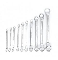 Set chei inelare cu cot 6-32mm 10 piese  KD10929