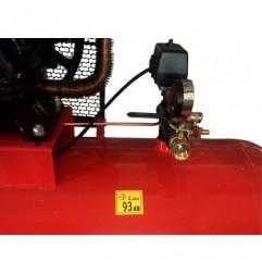 Compresor aer cu ulei 500L 3 pistoane+separator KD1412