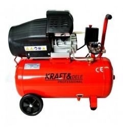 Compresor aer 50 litri cu 2 pistoane 2.2KW 4,1 CP -KD1479